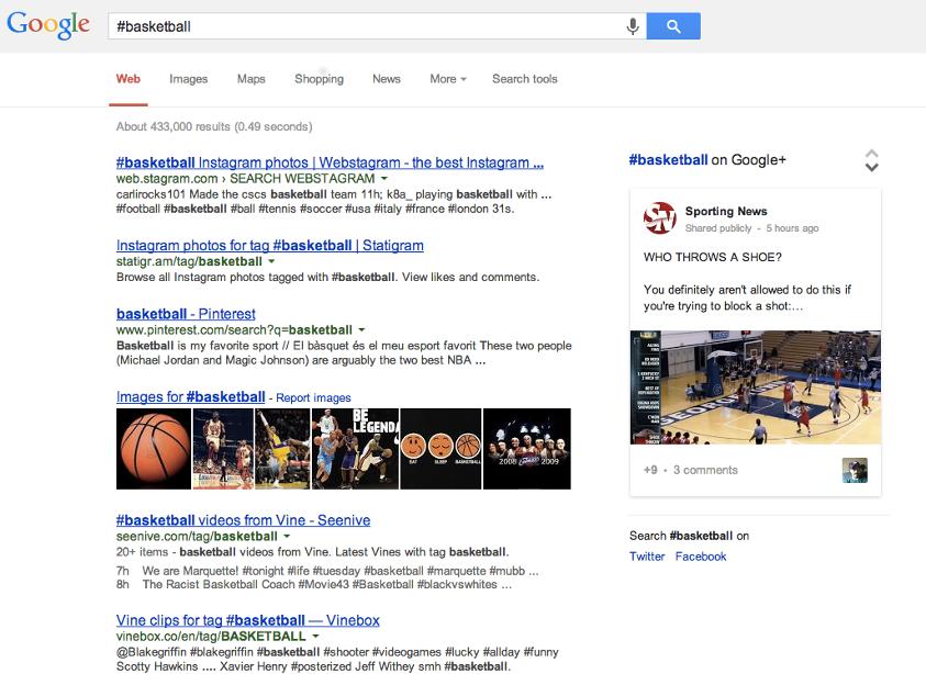 Recherche #basketball Google+ - Pierre Legeay