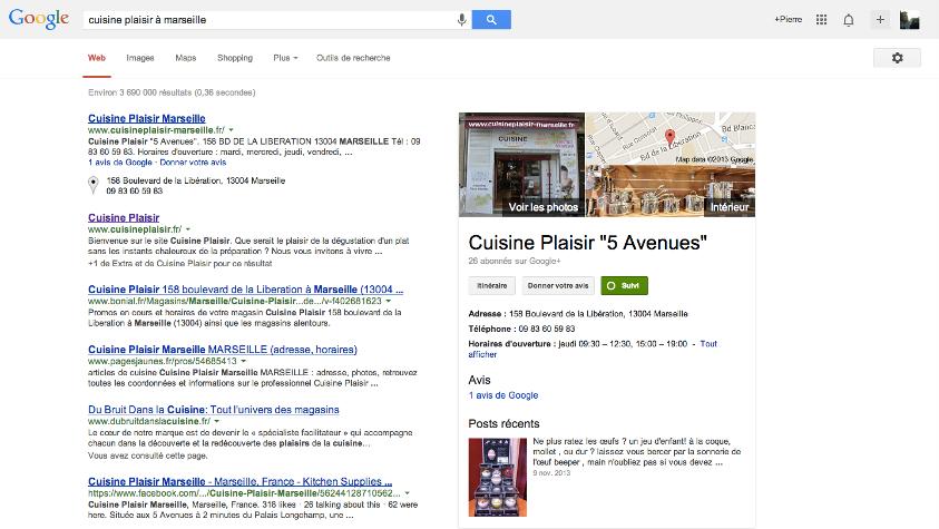 Recherche Cuisine Plaisir Marseille Google+ - Pierre Legeay