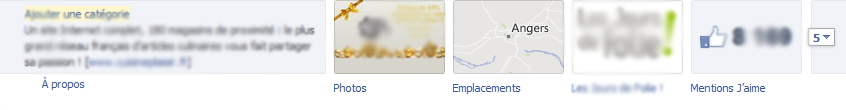 Onglet Emplacement Facebook - Pierre Legeay