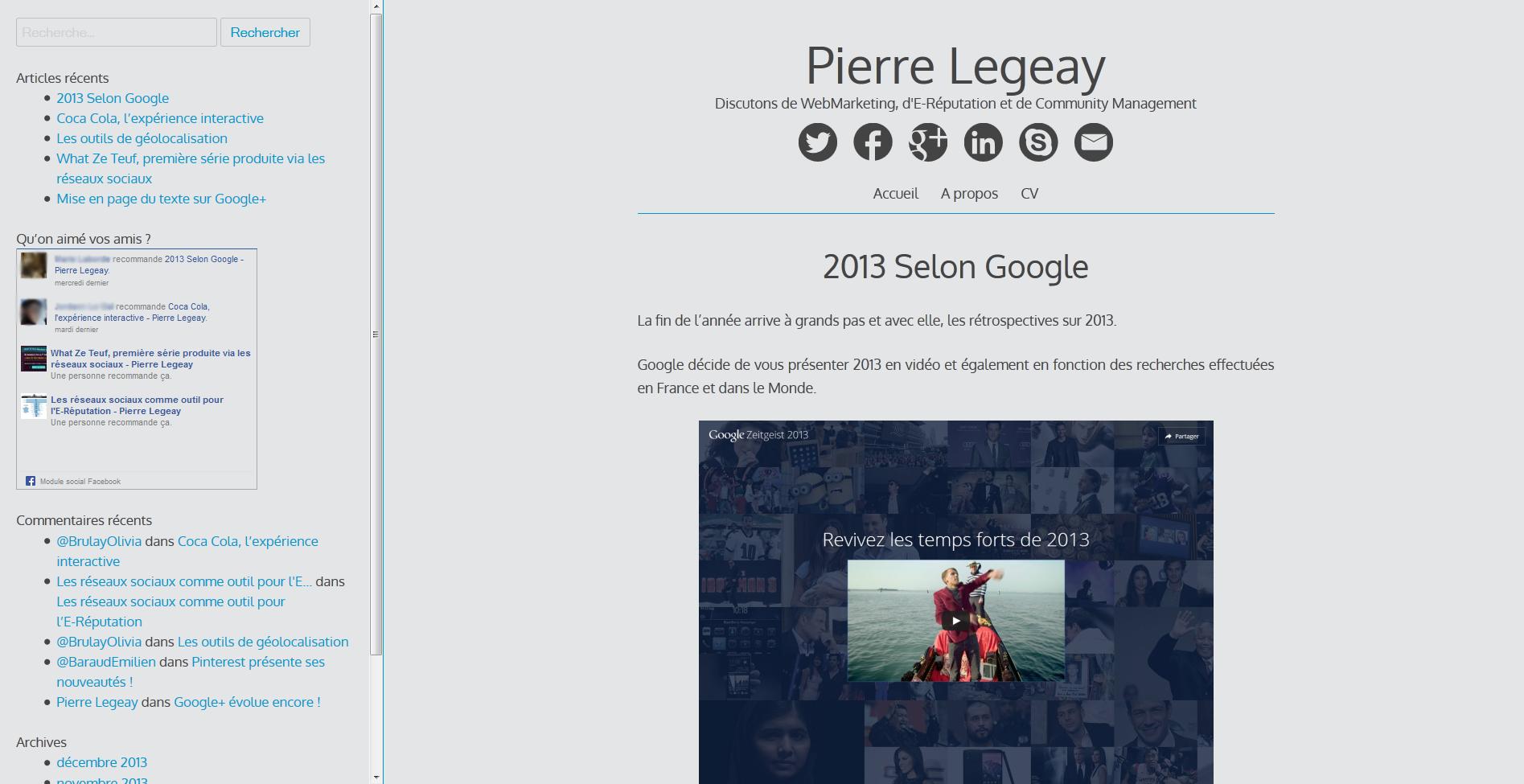 Activity Feed - Pierre Legeay