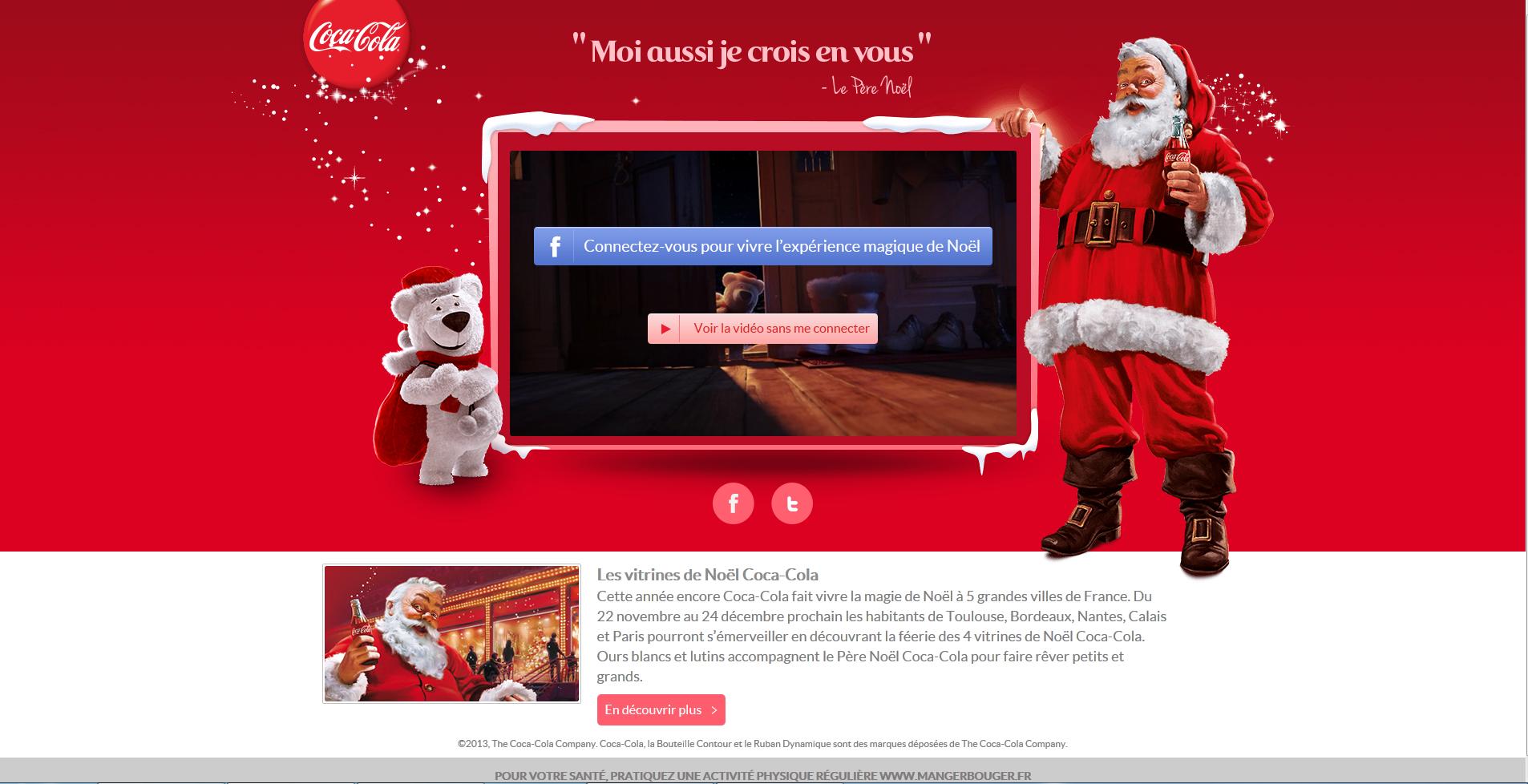 Vitrines de Noël Coca-Cola - Pierre Legeay