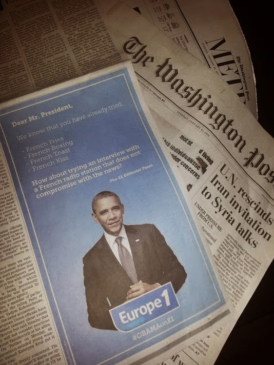 Obama Washington Post Europe 1 - Pierre Legeay - Blog Webmarketing